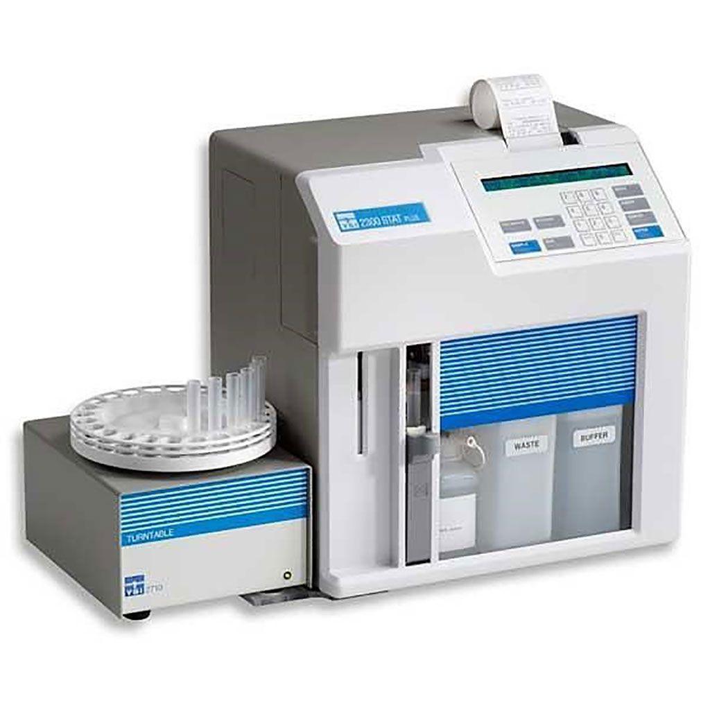 Imagen: El analizador de glucosa y lactato YSI 2300 STAT Plus (Fotografía cortesía de YSI Life Science)