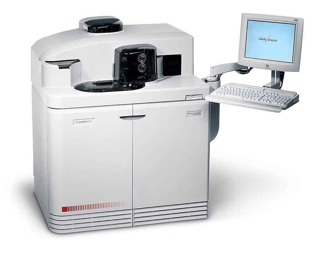 Imagen: El sistema de inmunodiagnóstico VITROS ECiQ (Fotografía cortesía de Ortho Clinical Diagnostics)