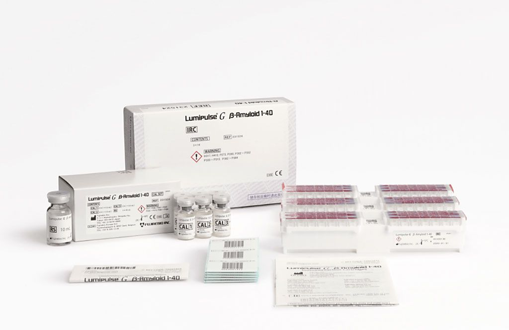 Imagen: El kit de análisis Lumipulse G β-amiloide 1-40 (Fotografía cortesía de Fujirebio)