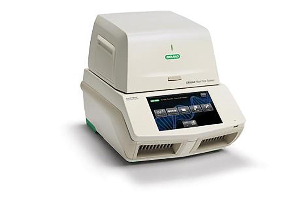Imagen: El sistema de detección de PCR en tiempo real, CFX384 Touch (Fotografía cortesía de Bio-Rad)