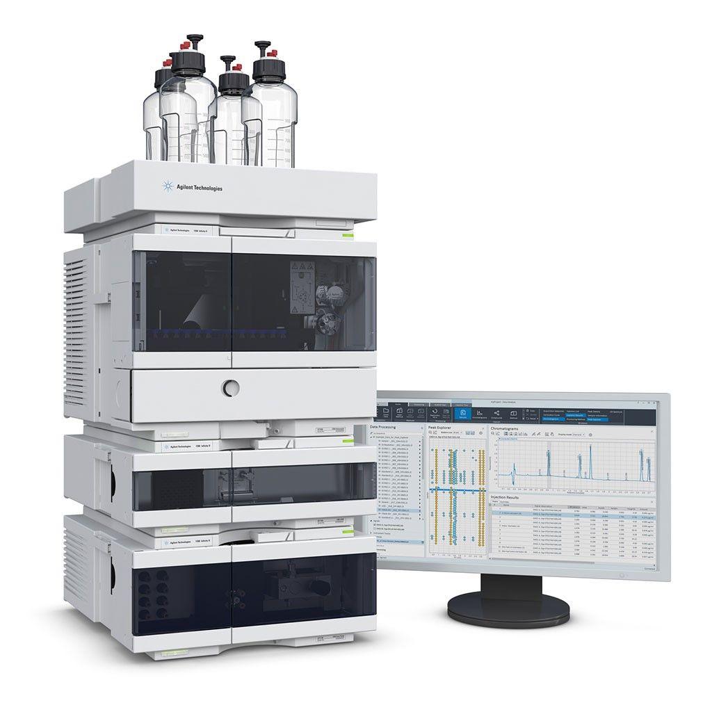 Imagen: El sistema HPLC Agilent 1260 (Fotografía cortesía de Agilent Technologies)