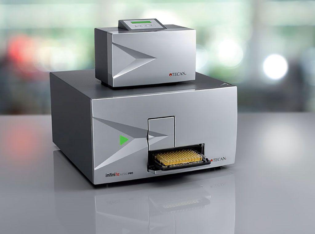 Imagen: El lector profesional NanoQuant infinite M200, es una familia de lectores de placas multimodo fáciles de usar (Fotografía cortesía de Neotec Scientific Instrumentation).