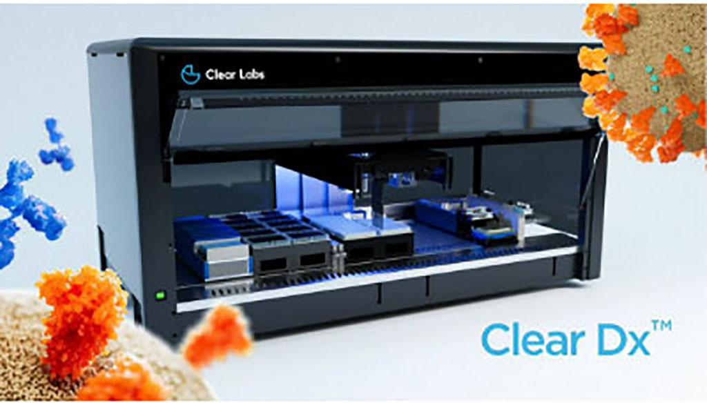 Imagen: Plataforma Clear Dx (Fotografía cortesía de Clear Labs)