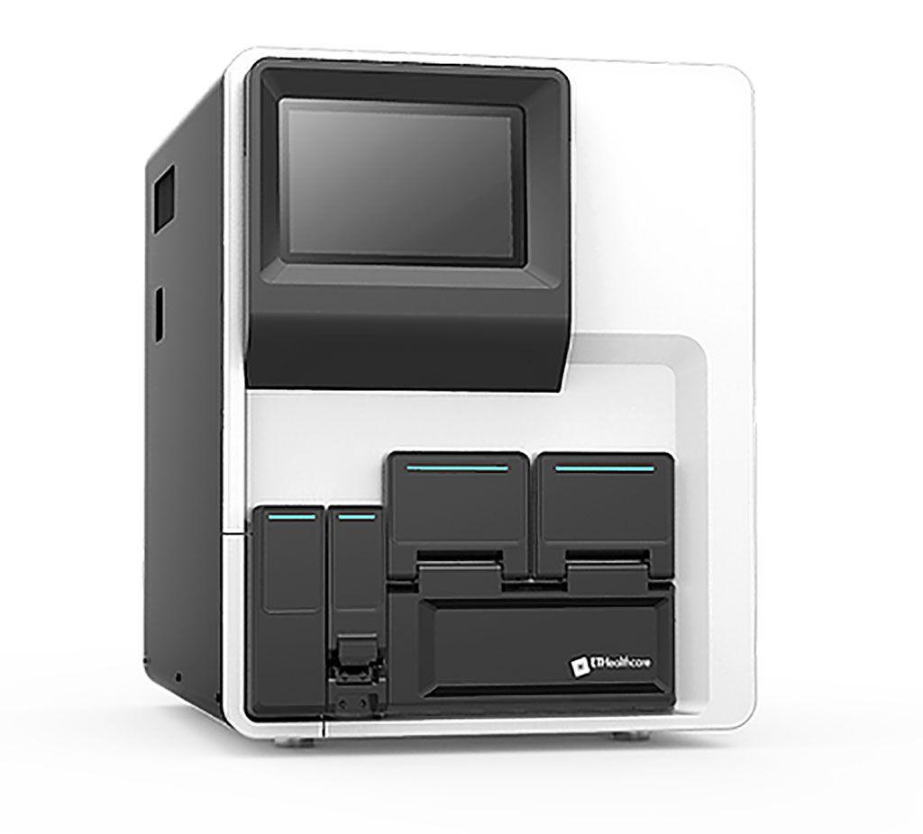 Imagen: El sistema de inmunoensayo totalmente automatizado Pylon 3D (Fotografía cortesía de ET Healthcare)