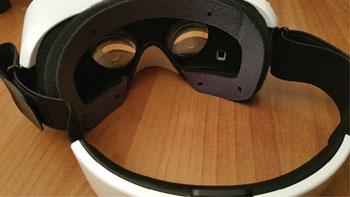 Imagen: El prototipo del dispositivo móvil de realidad virtual para el diagnóstico por imágenes (Fotografía cortesía de la RSNA).