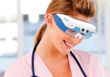 Imagen: La plataforma Gafas con Ojos 3.0 de Evena Medical (Fotografía cortesía de Evena Medical).