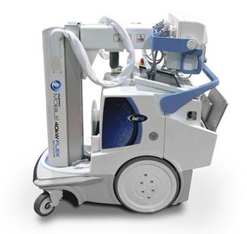 Imagen: El sistema móvil de rayos X RadPRO1 40kW Flex Digital (Fotografía cortesía de Canon).