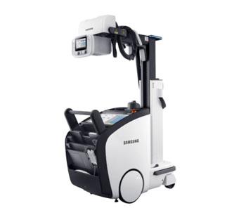 Imagen: La nueva unidad, GM85 DR (Fotografía cortesía de Samsung Medical).