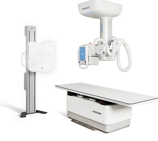Imagen: El sistema GC70 DR, destinado a pacientes pediátricos y adultos (Fotografía cortesía de Samsung NeuroLogica).