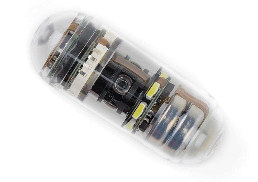 Imagen: La CapsoCam Plus ofrece una tecnología de imagenología de 360º (Fotografía cortesía de CapsoVision).