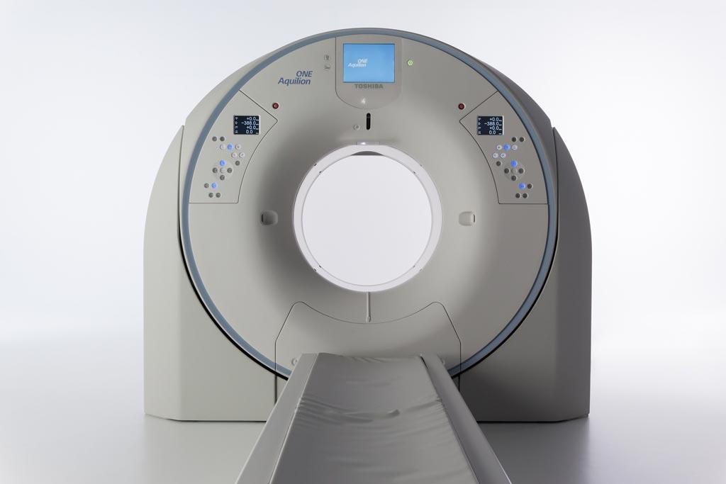 Imagen: Se ha anunciado una versión mejorada de la edición Aquilion ONE/GENESIS para uso en los departamentos de emergencia (Fotografía cortesía de Toshiba Medical).
