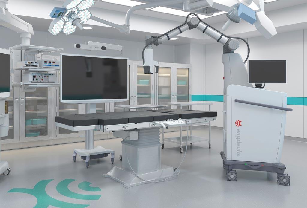 Imagen: El Modus Vis es la nueva piedra angular de la plataforma Synaptive BrightMatter (Fotografía cortesía de Synaptive Medical).