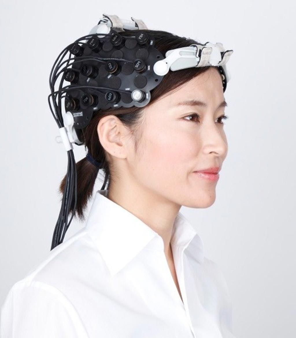 Imagen: El dispositivo OEG-17APD fNIRS puede detectar la actividad cerebral midiendo el flujo sanguíneo (Fotografía cortesía de Spectratech).