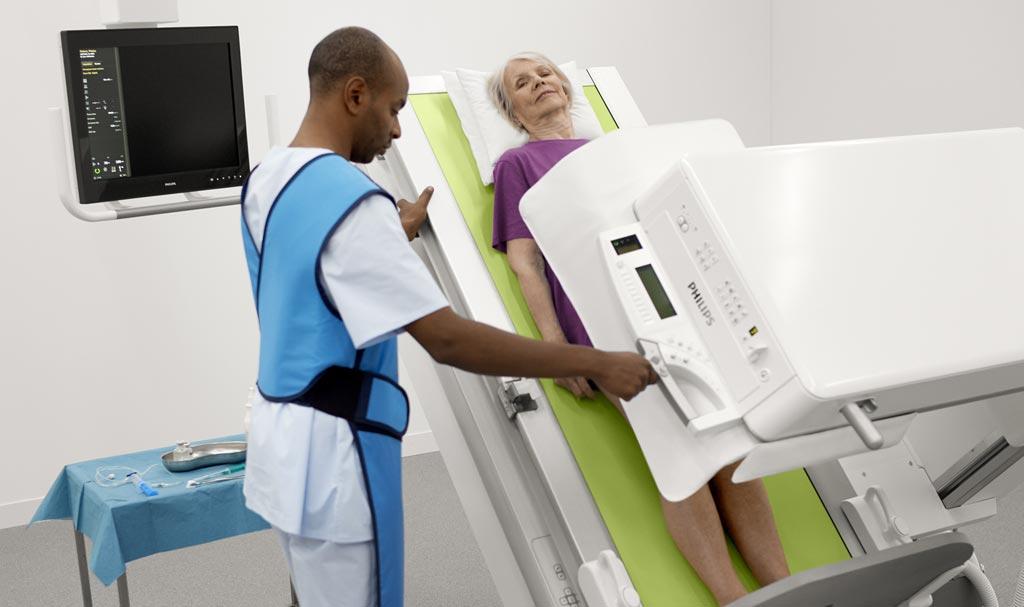 Imagen: El sistema ProxiDiagnost N90 DRF de Royal Philips (Fotografía cortesía de Philips Healthcare).