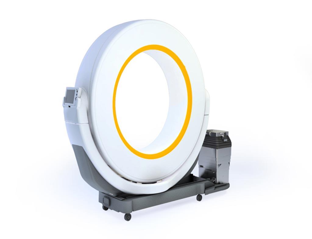 Imagen: El sistema de TC portátil Airo (Fotografía cortesía de Mobius Imaging).
