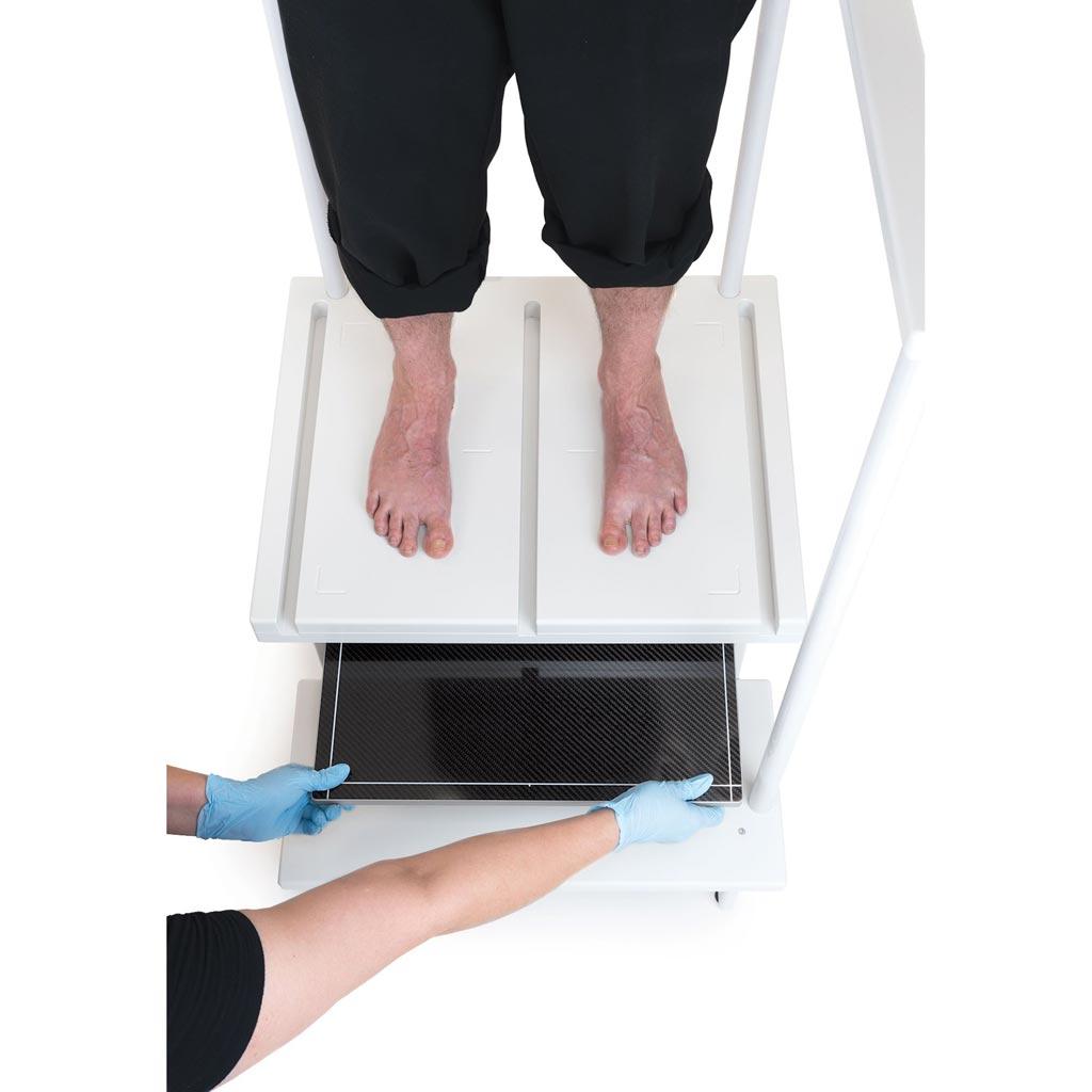 Imagen: Una solución de posicionamiento versátil de los pacientes reduce los tiempos (Fotografía cortesía de Clear Image Devices).
