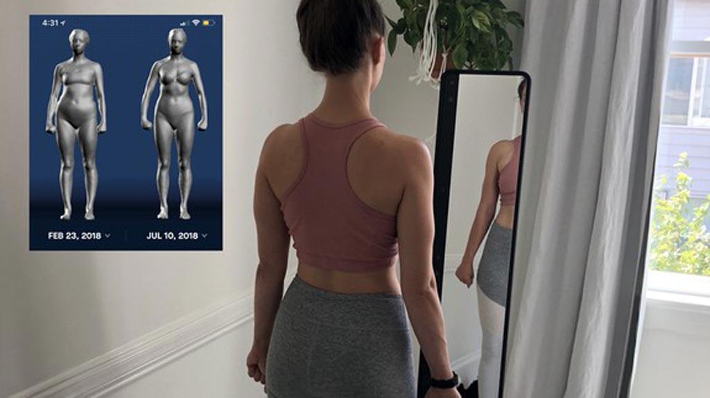 Imagen: Un nuevo sistema, basado en espejos, crea modelos en 3D del cuerpo humano (Fotografía cortesía de Naked Labs).
