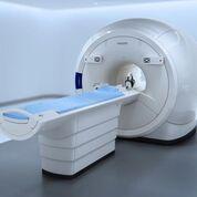 Imagen: El Ingenia Ambition X 1,5T de resonancia magnética con la tecnología de imanes BlueSeal (Fotografía cortesía de Philips Healthcare).