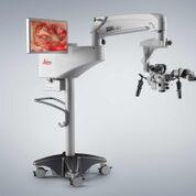 Imagen: El nuevo microscopio quirúrgico Provido (Fotografía cortesía de Leica Microsystems).