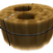 Imagen: Una imagen reconstruida en tres dimensiones mediante tomografía fantasma (Fotografía cortesía de la ANU).