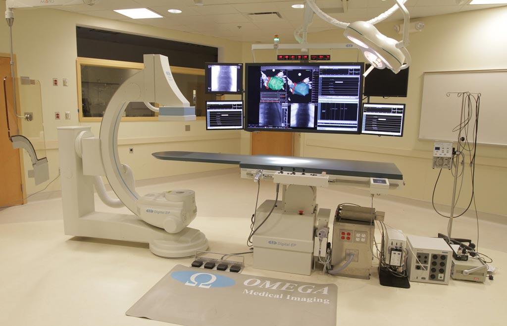 Imagen: La FDA le dio la aprobación a FluoroShield, la primera solución de reducción de la exposición a la radiación que usa la IA (Fotografía cortesía de Omega Medical Imaging).