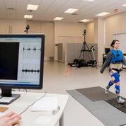 Imagen: La resonancia magnética se puede usar para analizar el movimiento de la marcha (Fotografía cortesía del Instituto de Rehabilitación UDEL Delaware).