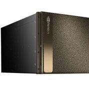 Imagen: El sistema de supercomputadora DGX-2 de dos petaFLOPS (Fotografía cortesía de Nvidia).