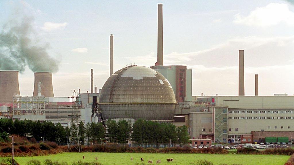 Imagen: La instalación de reprocesamiento nuclear de Sellafield en el Reino Unido (Fotografía cortesía de Getty Images).