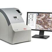 Imagen: El escáner de patología digital, Aperio AT2 (Fotografía cortesía de Leica Biosystems).