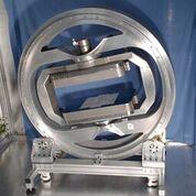 """Imagen: El prototipo de escáner de resonancia magnética """"mágico"""" (Fotografía cortesía del Colegio Imperial de Londres)."""
