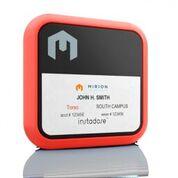 Imagen: El dosímetro Instadose2 (Fotografía cortesía de Mirion Technologies).