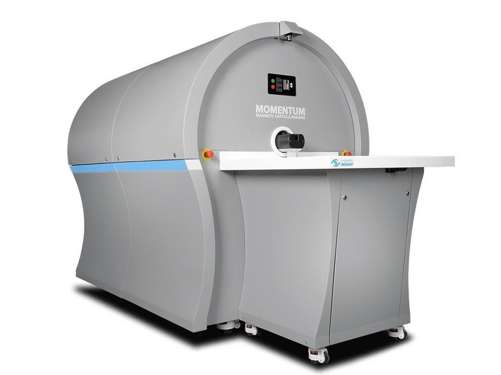Imagen: El sistema Momentum CT (Fotografía cortesía de Magnetic Insight).