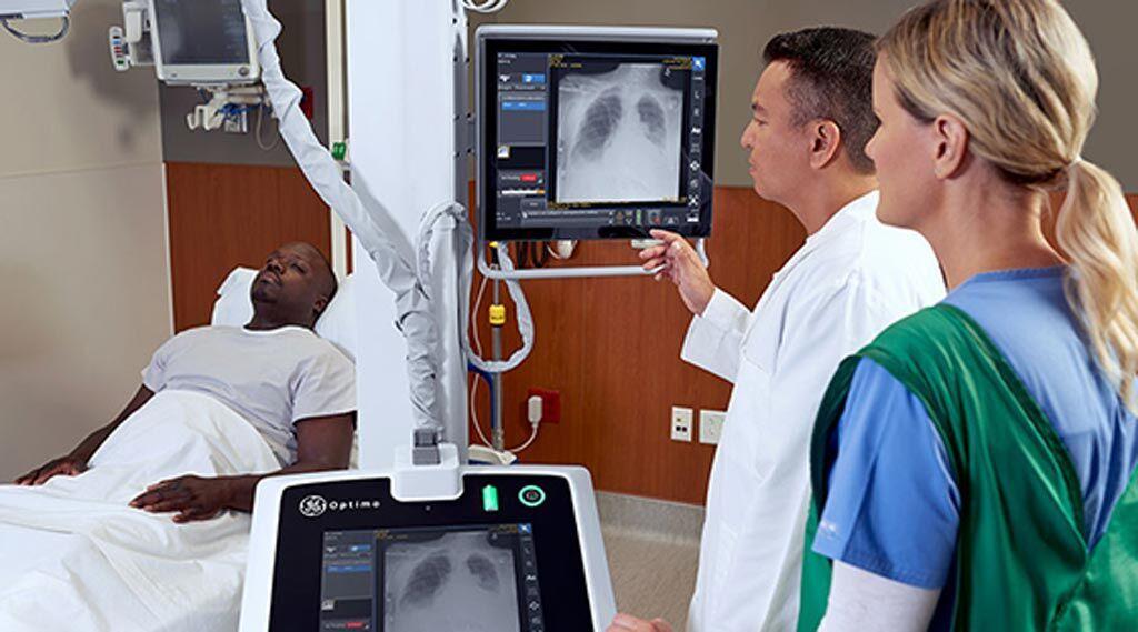 Imagen: Un algoritmo nuevo de programación de rayos X prioriza la programación de rayos X para los neumotórax (Fotografía cortesía de GE Healthcare).