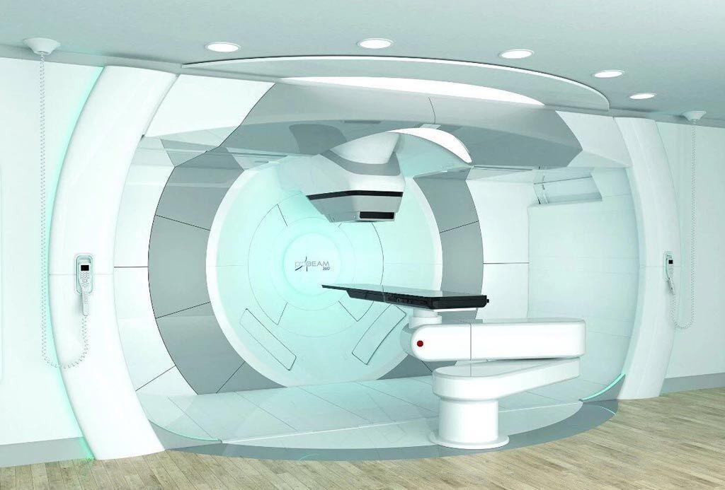 Imagen: El sistema ProBeam 360° ahora está disponible en configuraciones para varias habitaciones (Fotografía cortesía de Varian Medical Systems).