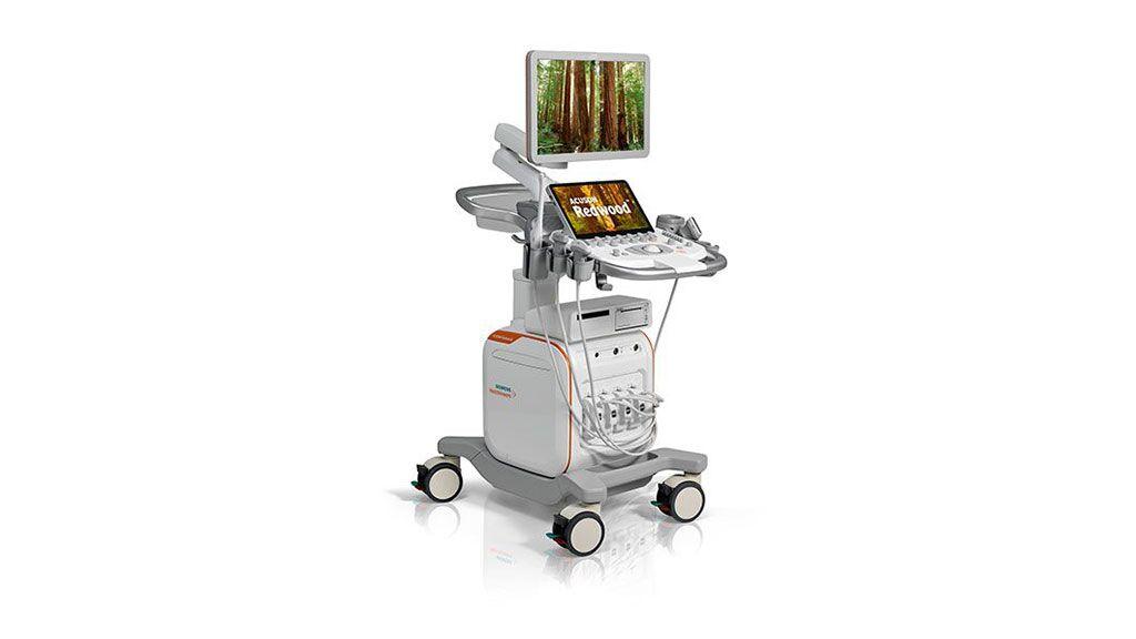 Imagen: El sistema de ultrasonido ACUSON Redwood (Fotografía cortesía de Siemens Healthineers)