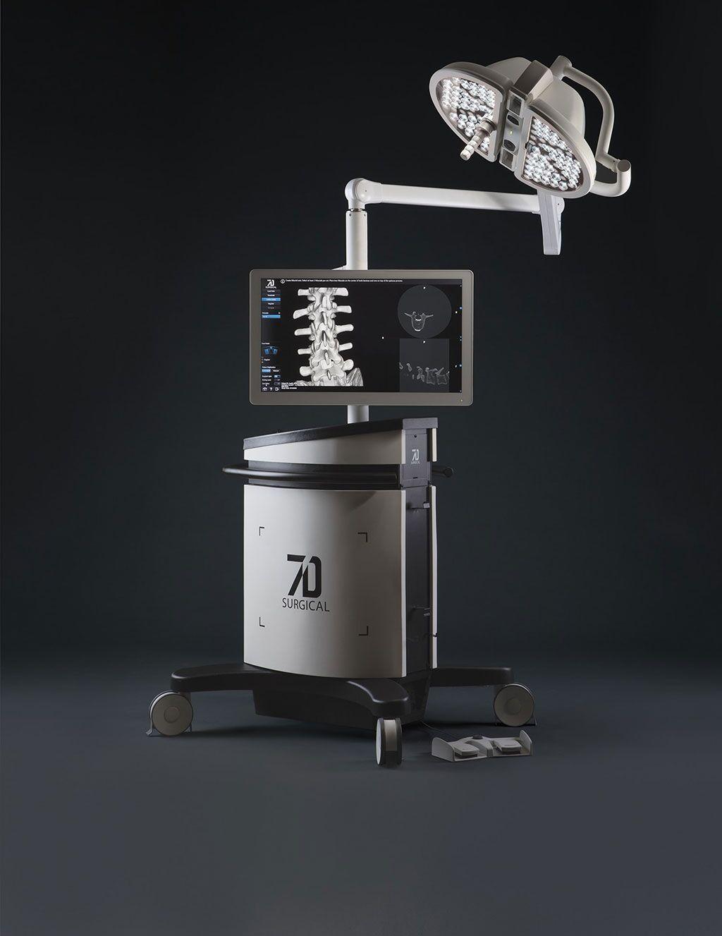 Imagen: Sistema quirúrgico 7D (Fotografía cortesía de 7D Surgical)
