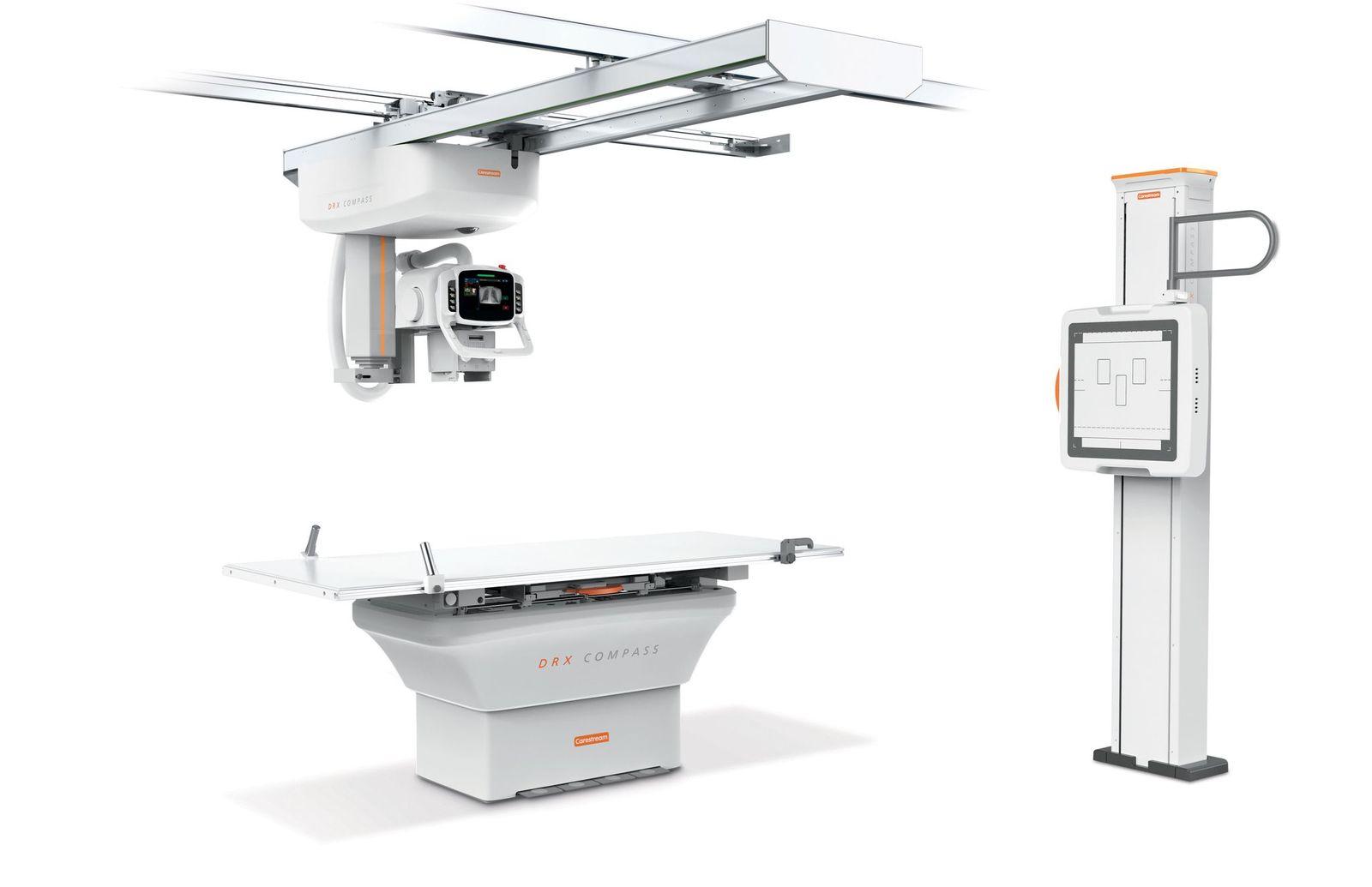 Imagen: El sistema de rayos X, DRX-Compass b (Fotografía cortesía de Carestream)