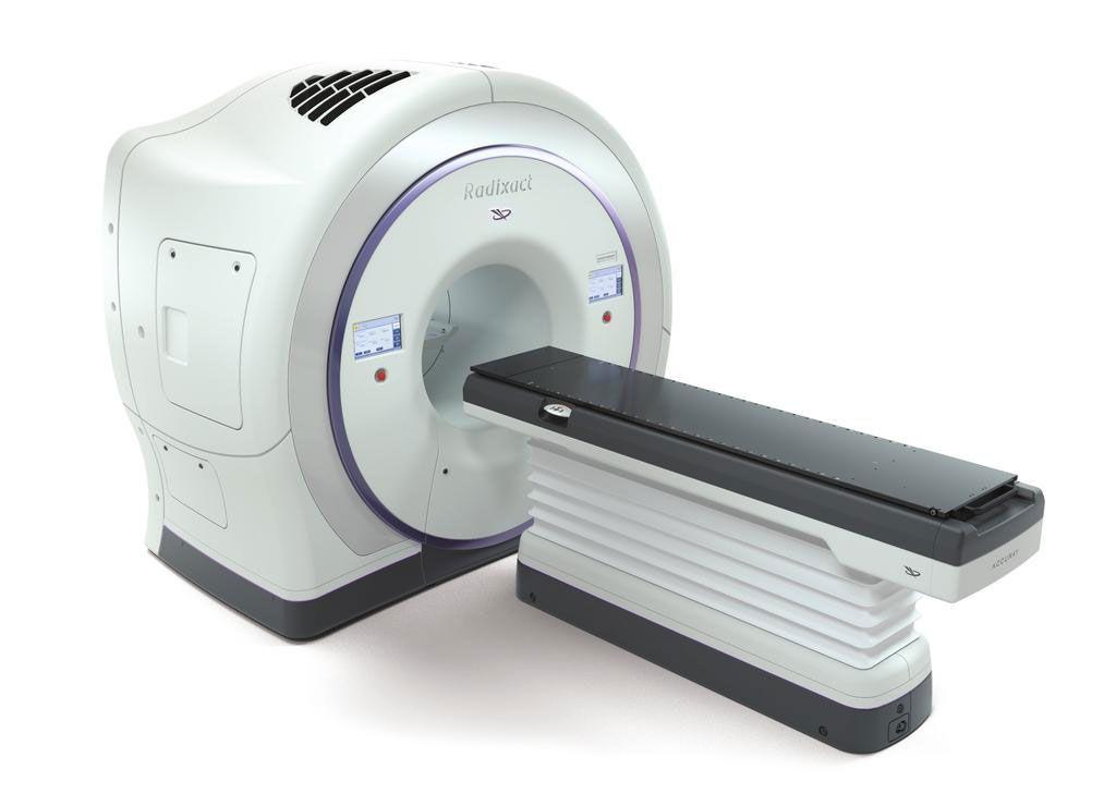 Imagen: El sistema Accuray Radixact con ClearRT (Fotografía cortesía de Accuray)