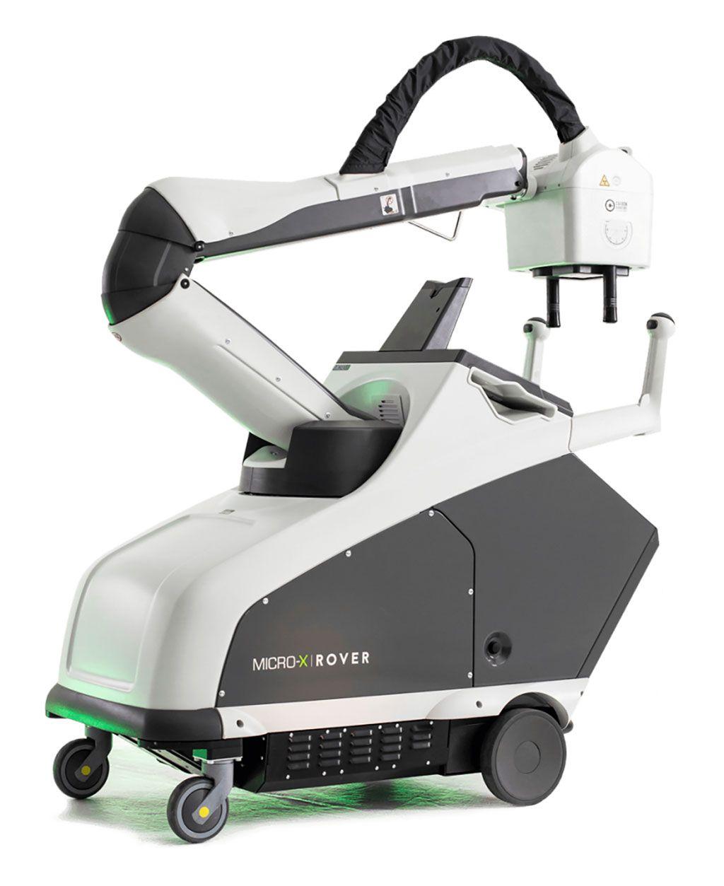 Imagen: El sistema de rayos X móvil Rover (Fotografía cortesía de Micro-X)
