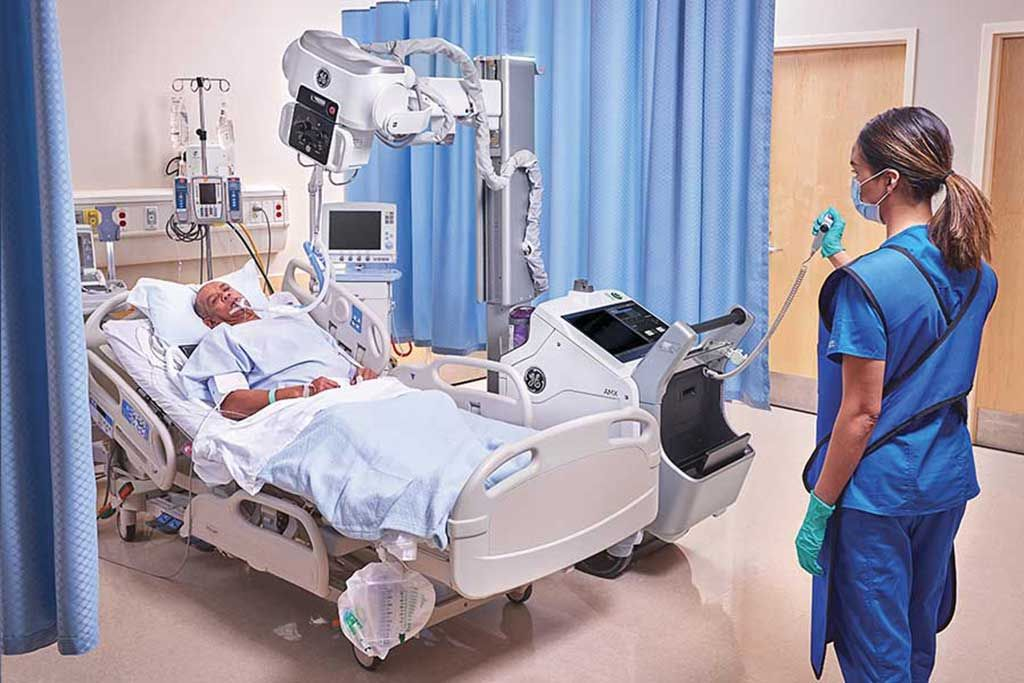 Imagen: El sistema de rayos X digital portátil AMX Navigate (Fotografía cortesía de GE Healthcare)