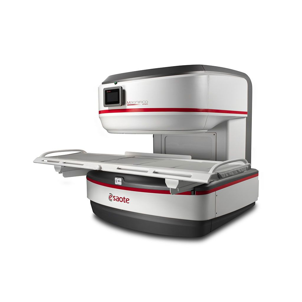 Imagen: El Sistema Magnifico Open MRI (Fotografía cortesía de Esaote)