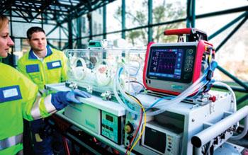 The HAMILTON-T1 transport ventilator with neonatal option