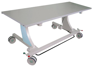 Z-Table: Portable radiographic table for U-Arm and Straight Arm x-ray systems