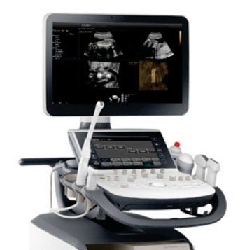 Image: The WS80A with Elite ultrasound system (Photo courtesy of Samsung Medison).