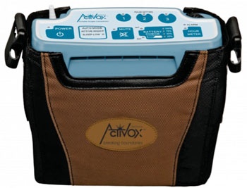 Image: The LifeChoice Activox 4L oxygen concentrator (Photo courtesy of Inova Labs).