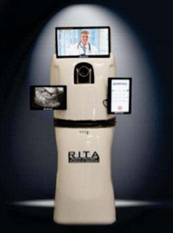 Image: Remote Intelligent Telehealth Assistant (RITA) (Photo courtesy of PR Newswire).