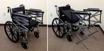 Image: The Wheelchair Access Assistant (Photo courtesy of Purdue University).