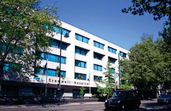 Image: Bupa Cromwell Hospital (Photo courtesy of Bupa).