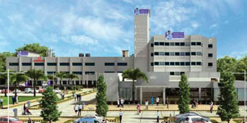 Image: The expanded Saket City Hospital in New Delhi (Photo courtesy of Saket City Hospital).