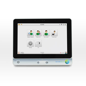 Image: The IDM100 integrated medical tablet (Photo courtesy of Dictum Health).